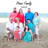 Pisoni Family - July 29, 2015